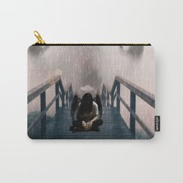 Scared Angel by GEN Z Carry-All Pouch
