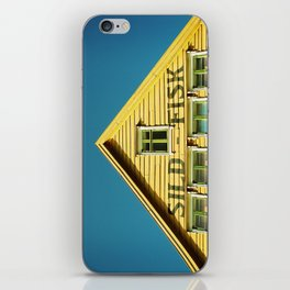 Sunny Yellow House iPhone Skin