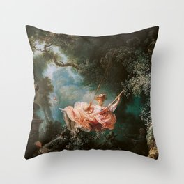 The Swing Throw Pillow
