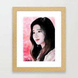 [Xszone]Twice Sana Digital Fanart 凑崎纱夏 板绘 Framed Art Print
