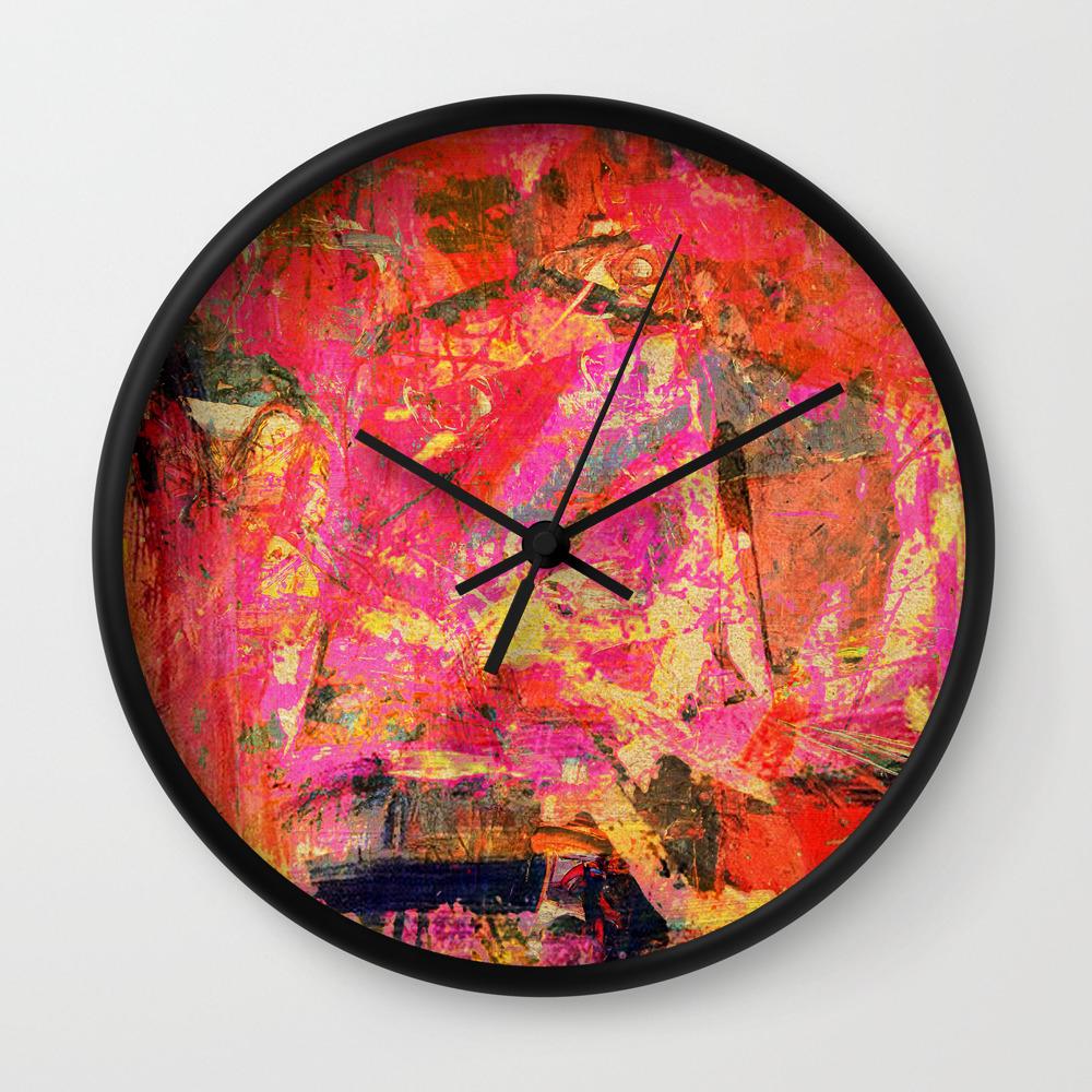 Cro-Magnon Wall Clock