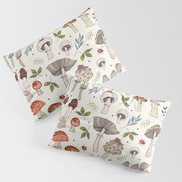 Wild Mushrooms & Toadstools Pillow Sham