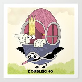 DOUBLE KING: Ovum Regia Art Print