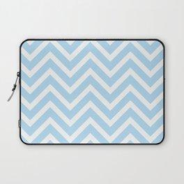 Chevron Stripes : Blue & White Laptop Sleeve