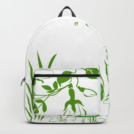 Pete the frog Backpack