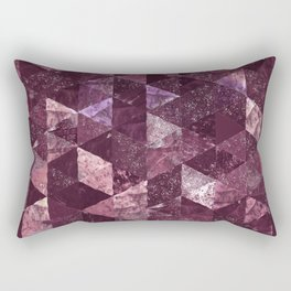 Abstract Geometric Background #24 Rectangular Pillow