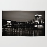 budapest Area & Throw Rugs featuring Budapest V. by Zsolt Kudar