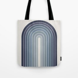 Gradient Arch - Blue Tones Tote Bag