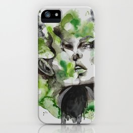 Kiss by carographic iPhone Case