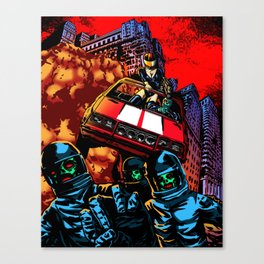 Devil Planet Canvas Print