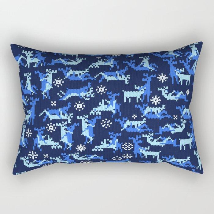 Christmas deer kamasutra Rectangular Pillow