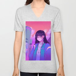 Shibuya Girl Unisex V-Neck