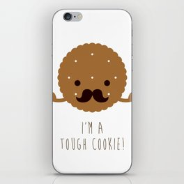 Tough Cookie iPhone Skin
