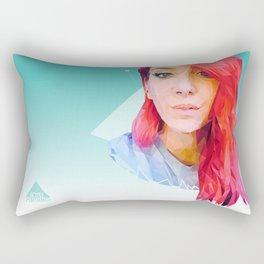 Low Poly Jenna Marbles Rectangular Pillow