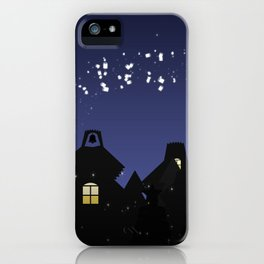 Dropping care iPhone Case