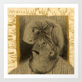 Winter's Hymn Part: 107, Digital Drawing Art Print Art Print
