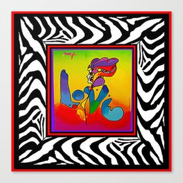 FRAMED PETER MAX Canvas Print
