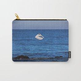 Egret on Caspersen Carry-All Pouch