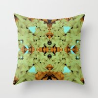 dune Throw Pillows featuring Dune by JKyleKelly