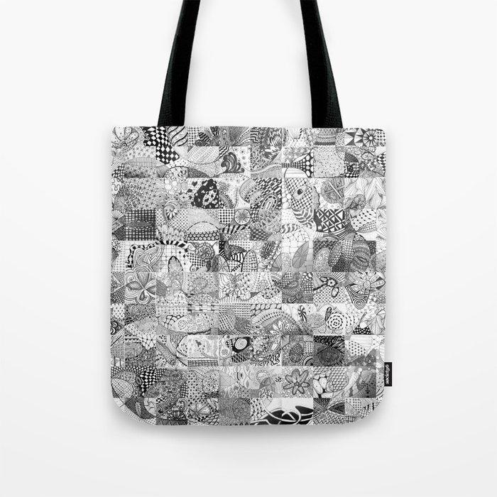 Doodling Together #4 Tote Bag