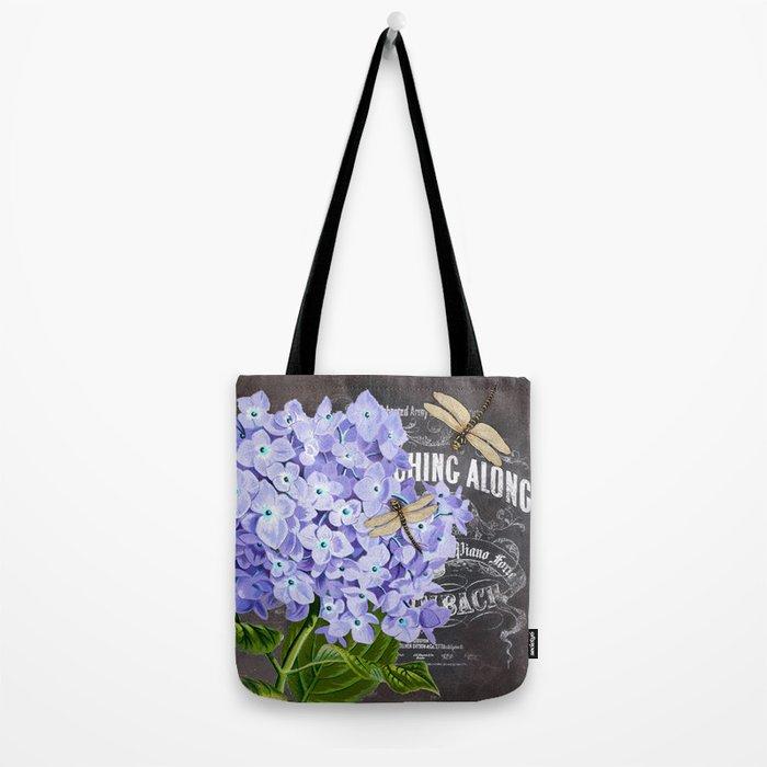 Vintage Flowers #4 Tote Bag