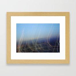 Light Dance Framed Art Print