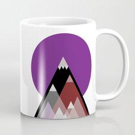 Geometric Mountains Coffee Mug