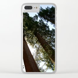 Sequoia Row Clear iPhone Case