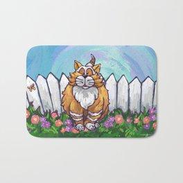Animal Parade Ginger Cat Bath Mat