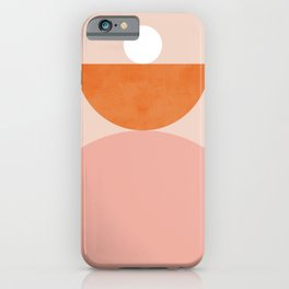 Abstraction_Balance_Minimalism_003 iPhone Case