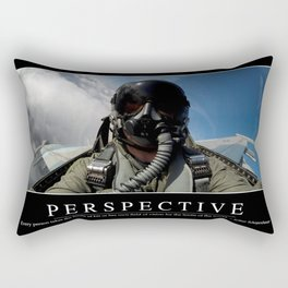 Perspective: Inspirational Quote and Motivational Poster Rectangular Pillow