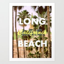 Long Beach, California V.R. Art Print