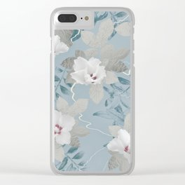 FLORAL & BOHO Clear iPhone Case