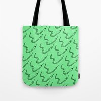Snake in the grass Tote Bag