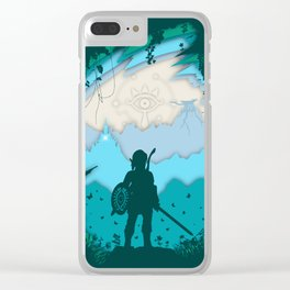 Breath of Warrior Clear iPhone Case