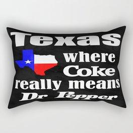 Texas Cola Rectangular Pillow