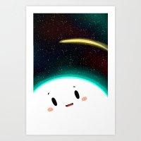 Shooting star ~ Art Print
