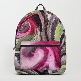 Art Pink Backpack