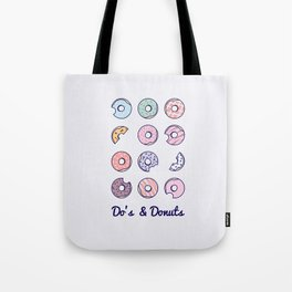 Do's & Donuts Tote Bag