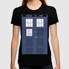 Smaller On The Outside Tardis T-shirt