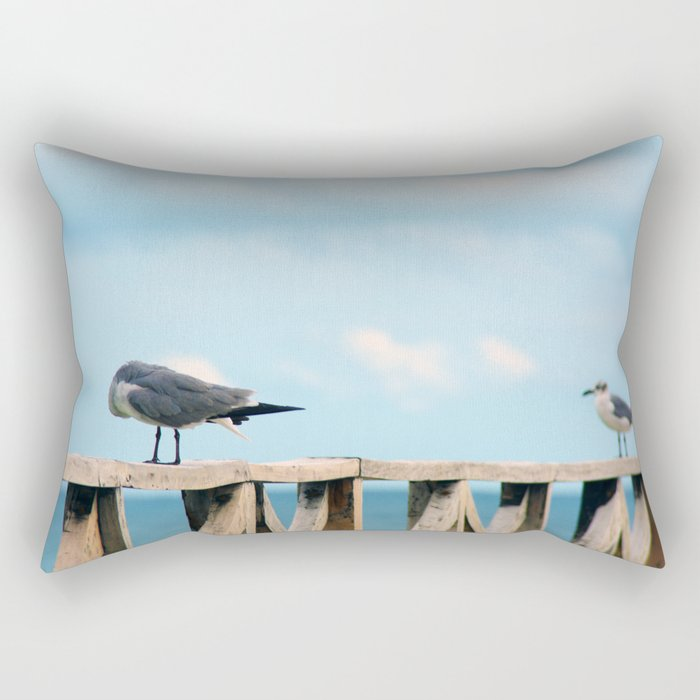 Bird collection _02 Rectangular Pillow