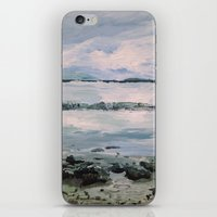 maine iPhone & iPod Skins featuring Maine by Samantha Crepeau