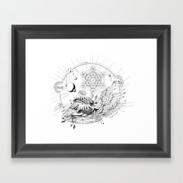Seraphim Ninefold Ardour Framed Art Print