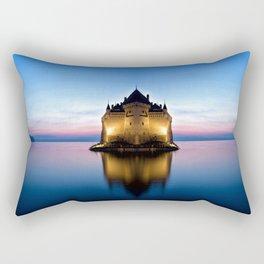 The  Castle Rectangular Pillow