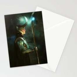 Majestic King Stationery Cards