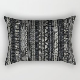 Mud Cloth Stripe Rectangular Pillow