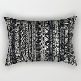 Mud Cloth Stripe Rectangular Pillow