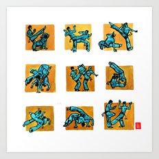 Capoeira 500+ Art Print