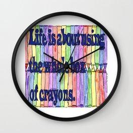The Whole Box Wall Clock
