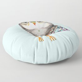 Owl by Ashley Percival Floor Pillow